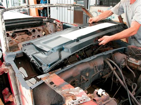 Interior Door Frame Repair How To Replace Your Classic Ford Mustang Cowl Mustang