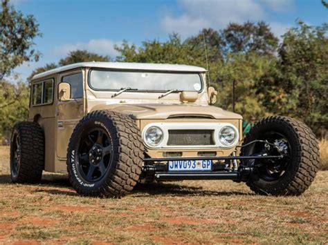 toyota custom cars com motor lexus v8 e 304cv esse 233 o toyota bandeirante