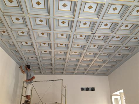 soffitto cassettoni falegnameria stefano antonacci soffitto a cassettone