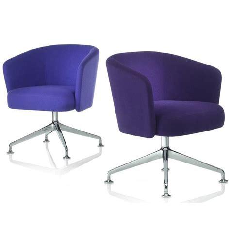 Swivel Armchairs Uk by Orangebox Hay Swivel Armchair On 4 Base Office