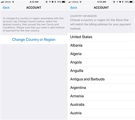 apple your payment method was declined how to change your apple id country without entering