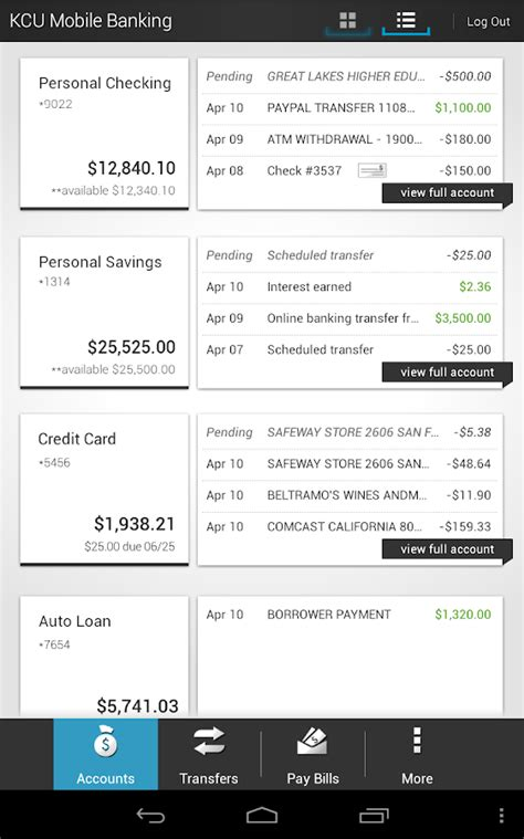 kitsap credit union android apps on play
