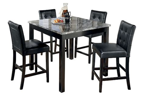 Bar Stools Set Of 5 by Maysville Counter Height Dining Room Table And Bar Stools