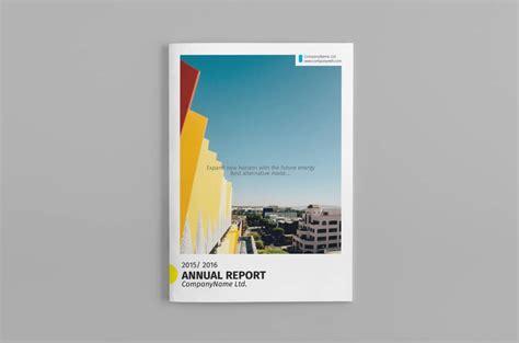 Digital Annual Report Template