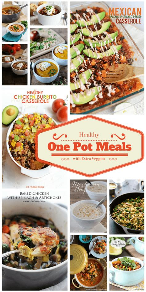 healthy one pot meals with extra veggies barbara bakes