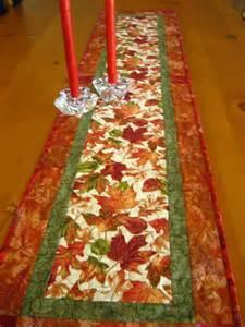 autumn blaze quilted table runner on luulla