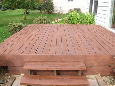 backyard platform deck platform deck working in the yard pinterest