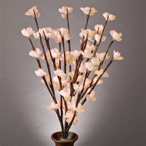 20 quot pink cherry blossom battery operated led lighted