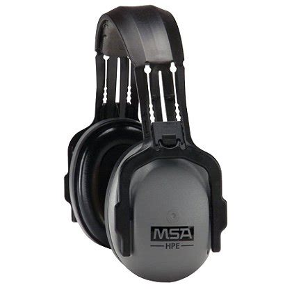 Earmuff Safety Msa msa hpe headband earmuff passive hearing protection