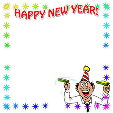 new year border twinkl free happy new year borders new year border clip