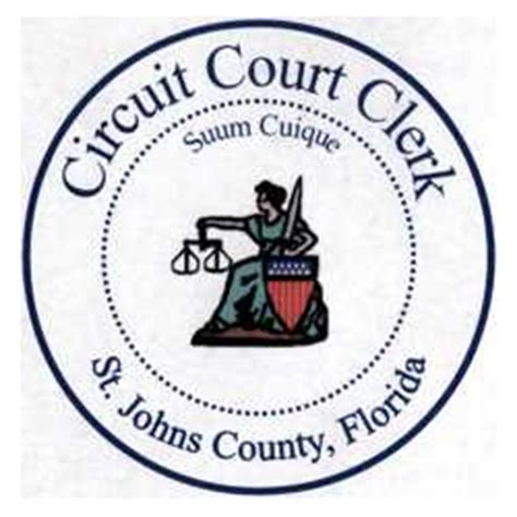 St Johns County Clerk Of Court Records Search St Johns County Circuit Clerk 0 Png Images Frompo