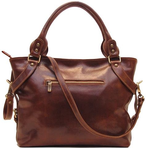 italian leather handbags taormina in vecchio brown