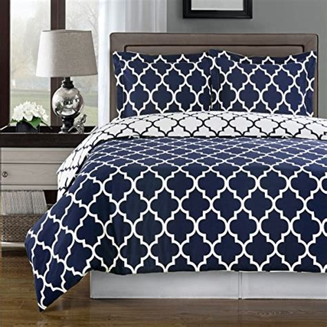 Navy Xl Comforter by Navy And White Meridian 3pc Xl Comforter Set
