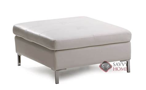 Palliser Ottoman Wynona Leather Ottoman By Palliser Is Fully Customizable By You Savvyhomestore