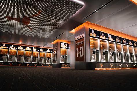 palace locker room longhorns locker room now a football palace san antonio express news