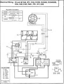 golf cart turn signal wiring diagram 36 volt golf cart 12 wiring diagram wiring diagram with
