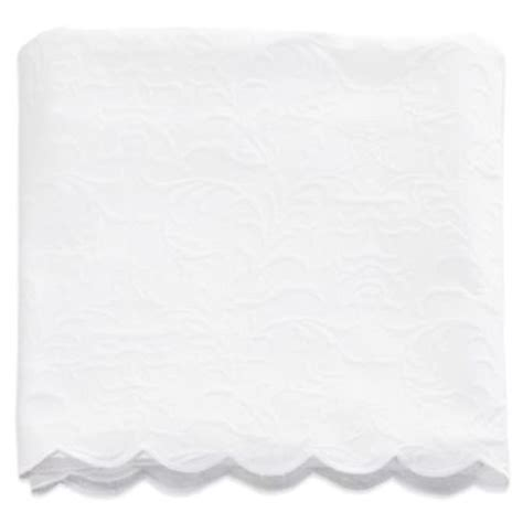 scalloped coverlet buy matelasse scalloped coverlet from bed bath beyond
