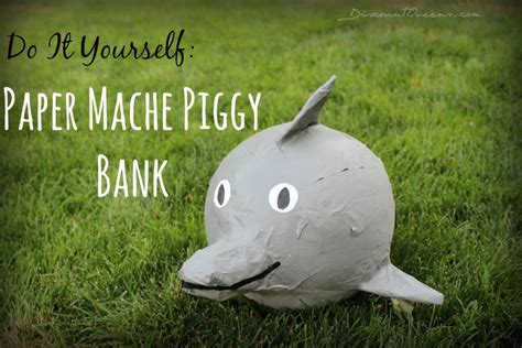 How To Make Paper Mã Chã Paste - diy kid s craft paper m 195 162 ch 195 169 piggy banks