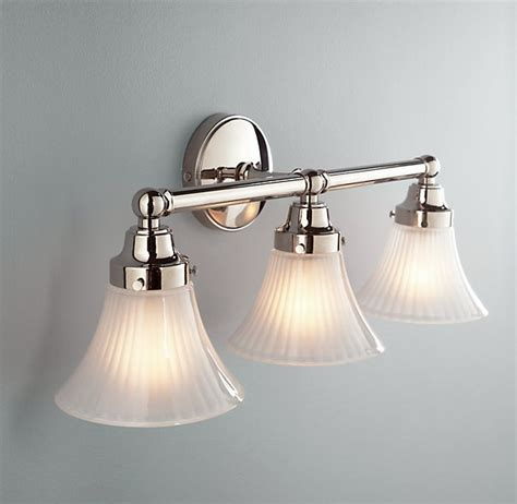 Restoration Hardware Bathroom Fixtures Rh Chatham Sconce Be Our Guest Bath Pinterest