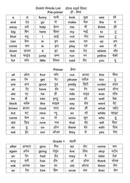 file dolch words list in pdf