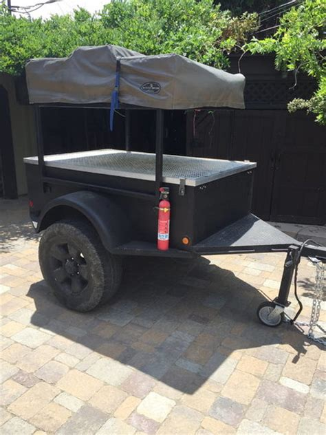 jeep cing trailer roof top tent trailer house roof