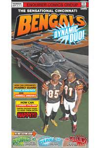 cincinnati enquirer sports section chad ochocinco terrell owens pose with batmobile for the