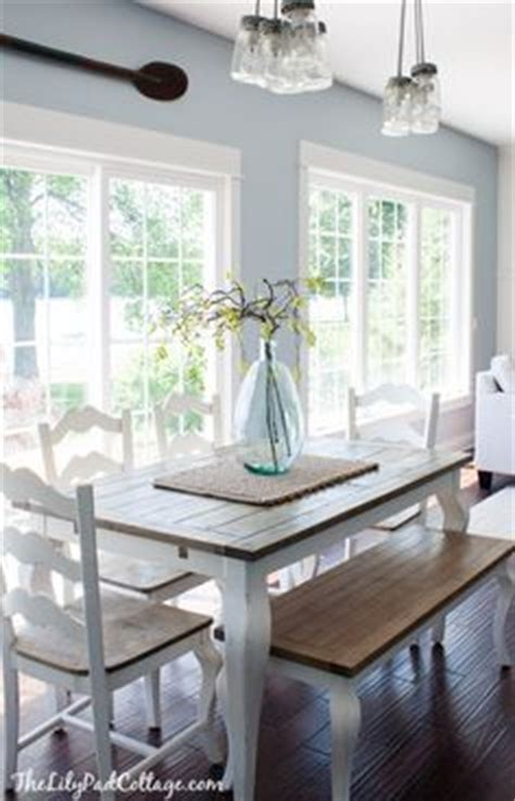 l shaped banquette bench for corner of kitchen paint