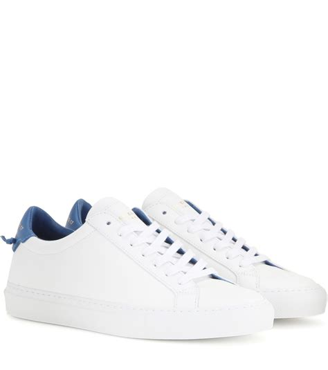 s givenchy sneakers givenchy knots leather sneakers in white lyst