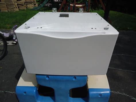 Samsung Washer Pedestal Blue Kenmore Elite Frigidaire Washer Dryer Pedestal W Drawer