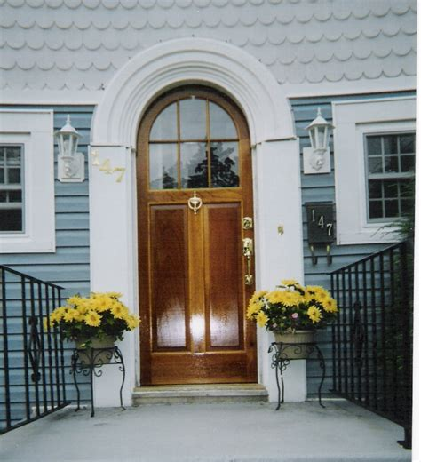 arch top exterior doors home entrance door arched exterior doors