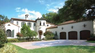 spanish home plans spanish style home designs from