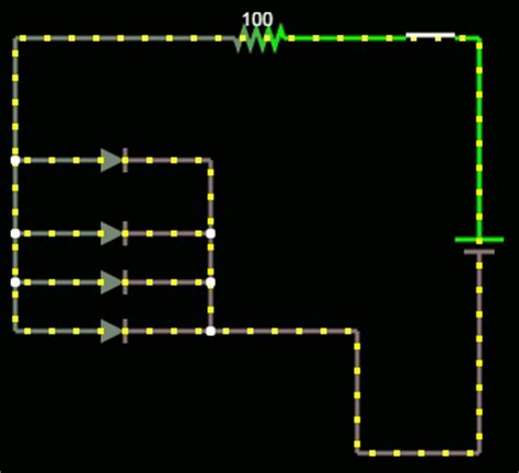 resistors in series and parallel animation why exactly can t a single resistor be used for many parallel leds electrical engineering