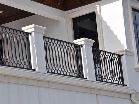 ringhiere per terrazzi esterni parapetti in ferro brescia ringhiere per balconi