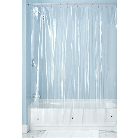 Clear Shower Curtain Liner by Interdesign X Shower Curtain Liner Clear 11street