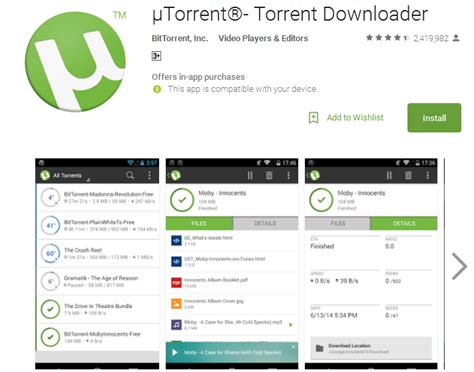 android torrenting app 28 images bittorrent now has a free live tv app on android top 12