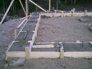 how to build concrete footing plans how to build plans