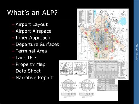 airport layout plan narrative report ppt electronic airport layout plans ealp powerpoint
