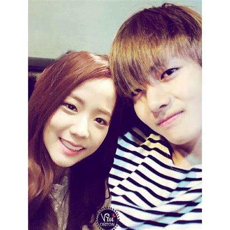 kim taehyung jisoo kλjis 김 black2thepink on twitter quot jisoo x bts member v