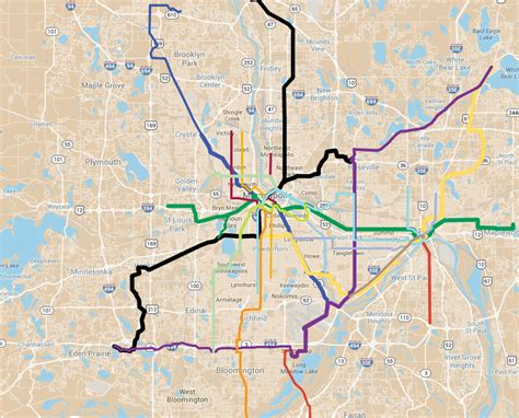 twin cities light rail map why minneapolis should consent to the southwest light rail