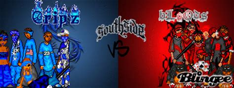 Cribs Vs Bloods by Bloods Vs Crips Picture 104212314 Blingee