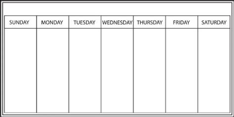 weekly calendar dr odd monday through sunday printable calendar calendar