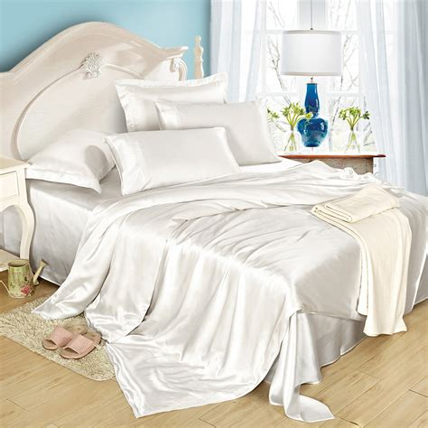 lilysilk 19mm seamless silk bedding set duvet cover fitted