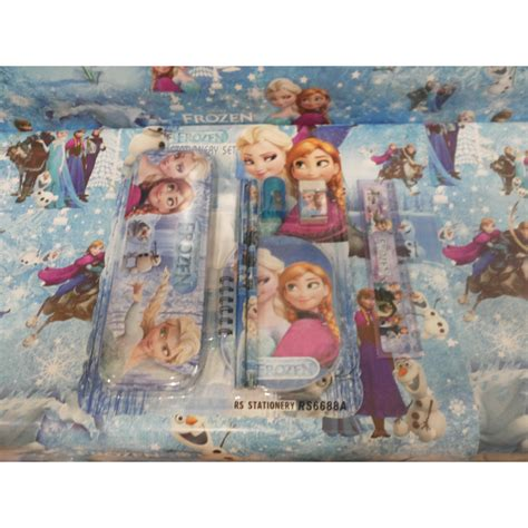 Set Alat Tulis Frozen Stationery Frozen stationary set alat tulis sekolah anak frozen elevenia