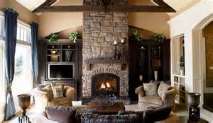 Decorating Ideas For Living Room With A Fireplace Living Room Living Room With Tv Above Fireplace