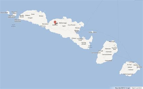 map  aran islands