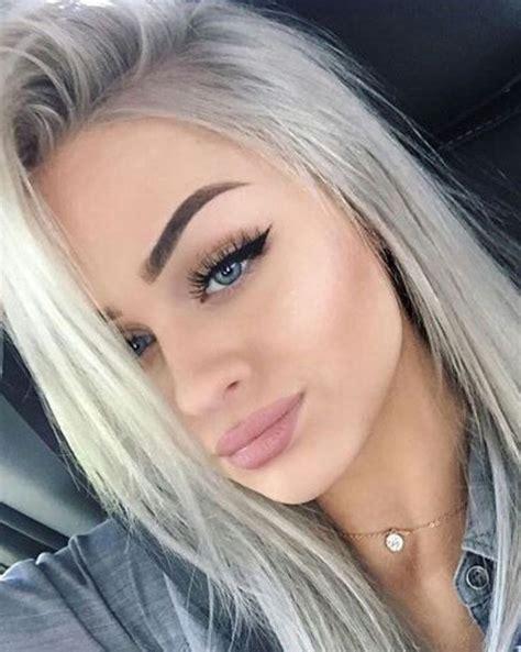 blonde grey hairstyles 1000 ideas about grey ash blonde on pinterest ash blonde