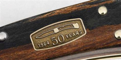 buck knives 110 50th anniversary buck knives 110 finger grooved 50th anniversary
