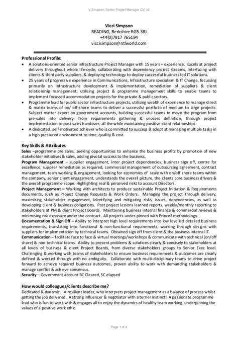 program manager resume examples assistant project manager resume