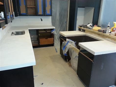 Countertop Solutions by Concrete Countertop Solutions Forum White Cntrtops In