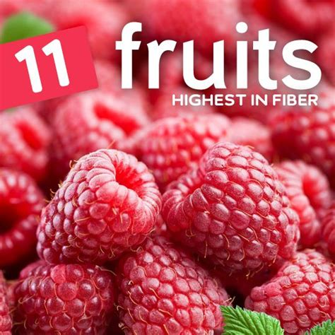 fruit with fiber top 11 fruits highest in fiber
